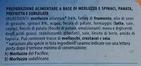 Cotolette di Merluzzo e Spinaci - Ingrédients - it