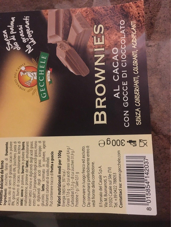 Brownies au Cacao - Produit - fr