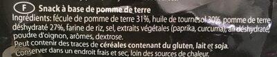 Tubini - Ingrédients - fr