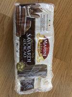 Savoiardi al cacao - Prodotto - fr
