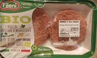 Hamburger di pollo biologico - Product - it