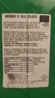 Hamburger di pollo biologico - Voedingswaarden - it