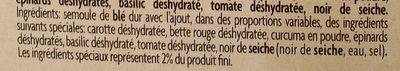 Trece dell'orto - Ingredients