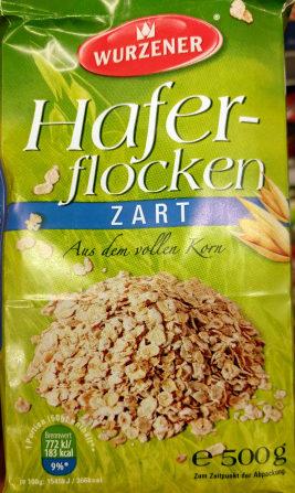 Hafterflocken Zart - Product - de