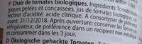 Polpa di pomodoro bio - Ingrédients - fr