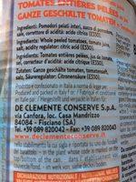 Pomodori Pelati - Ingredients