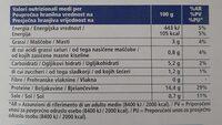 Cozze Cilene - sgusciate e precotte - Voedingswaarden - it