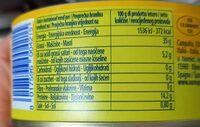 Tonno all'olio d'oliva - Informations nutritionnelles - fr