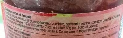 marmellata di fragole - Ingredients