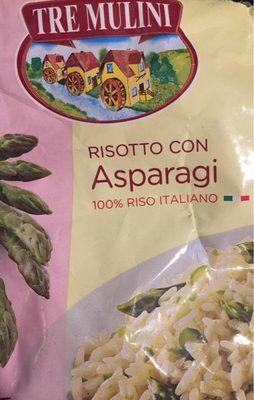 Risotto con asparagi - Produit - fr