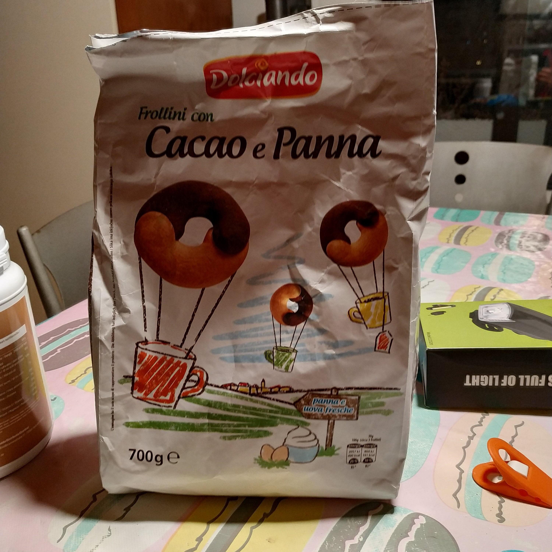 Frollini con Cacao e Panna - Product - it