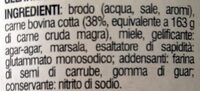 Carne in gelatina - Ingredients - it