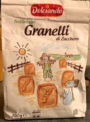 Frollini con granelli di zucchero - Product - it