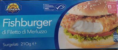 Fish burger di filetto di merluzzo - Product - it