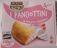 I panciottini al prosciutto e mozzarella - Product - fr