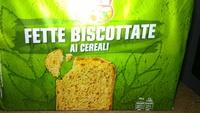 Fette Biscottate ai Cereali - Produit - it