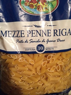 Mezze Penne Rigate - Produit