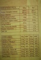 Honey Rings - Nutrition facts - it