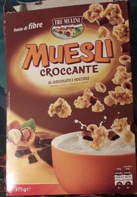 Muesli croccante al cioccolato e nocciole - Product - fr