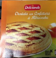 Crostata con Confettura di Albicocche - Product