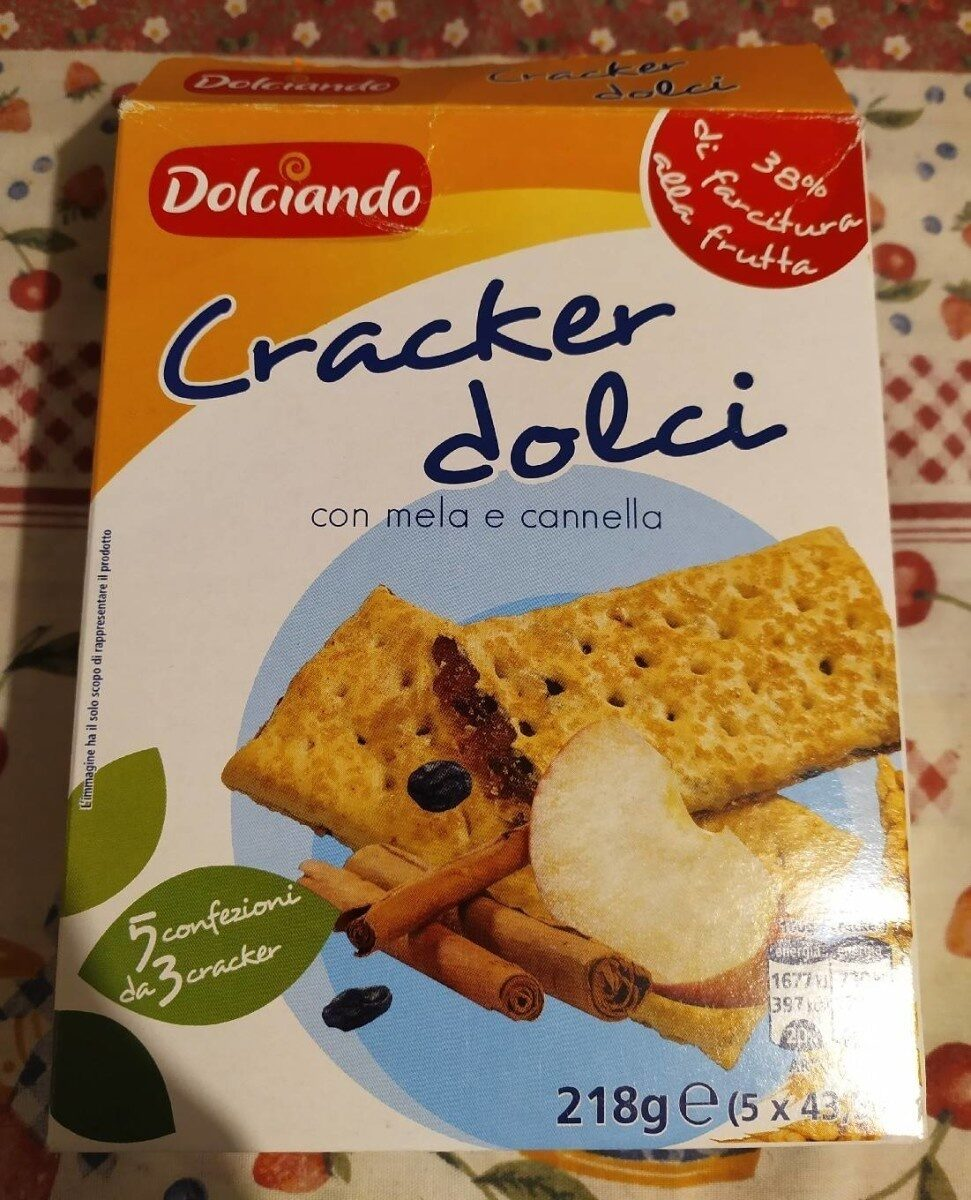 Cracker dolci mela e cannella - Produit - it