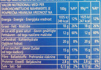 Pripravek za panno cotto s karameliziran in sladkorjem - Nutrition facts