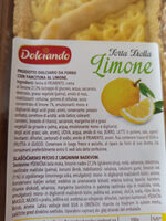 Torta frolla al limone - Ingredienti - it