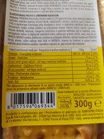 Torta frolla al limone - Valori nutrizionali - it