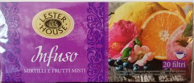 Infuso mirtilli e frutti misti - Prodotto