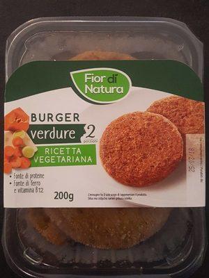 Burger di verdure - Prodotto - it