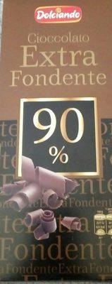 Cioccolato extra fondente 90% - Product