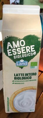 Latte intero biologico - Produit - it