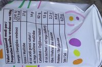 Ovetti confettati - Valori nutrizionali - it