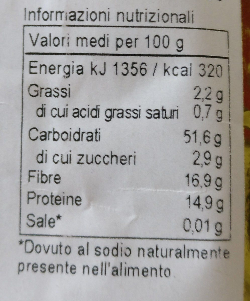 Zuppa alla nursina - Ingredients