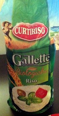 Gallette biologiche riso - Product