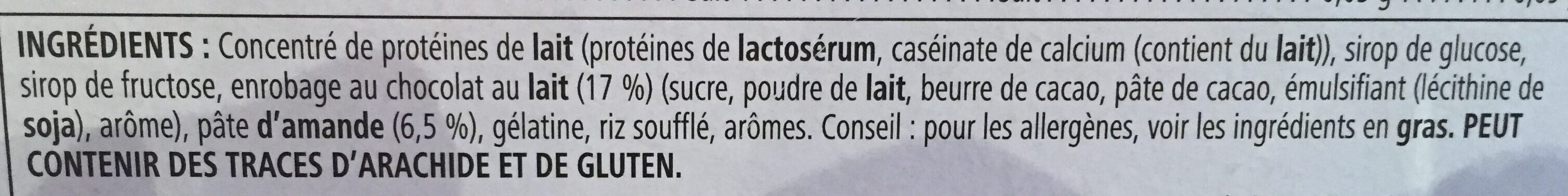 Barre en cas - Ingredients - fr