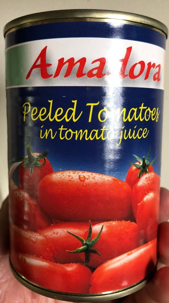 Tomates pelees - Product