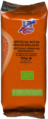 Lentejas rojas peladas - Producto - es