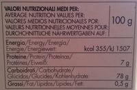 Sushi Rice - Riz pour sushi - Informations nutritionnelles - fr