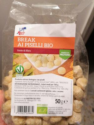 break ai piselli bio - Product - it
