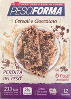 Barretta cereali e cioccolato - Prodotto - it