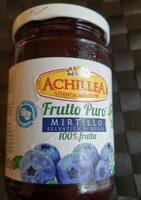 frutto puro mirtillo selvatico di bosco 100% frutta - Produit - it