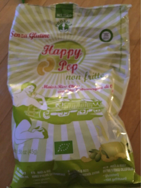 Happy Pop Happy Pop Crisps With Extra Virgin Olive Oil - Voedigswaarden