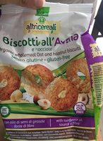 Biscotti all avena - Produkt - it