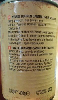 Weiße Bohnen - Ingrédients - de