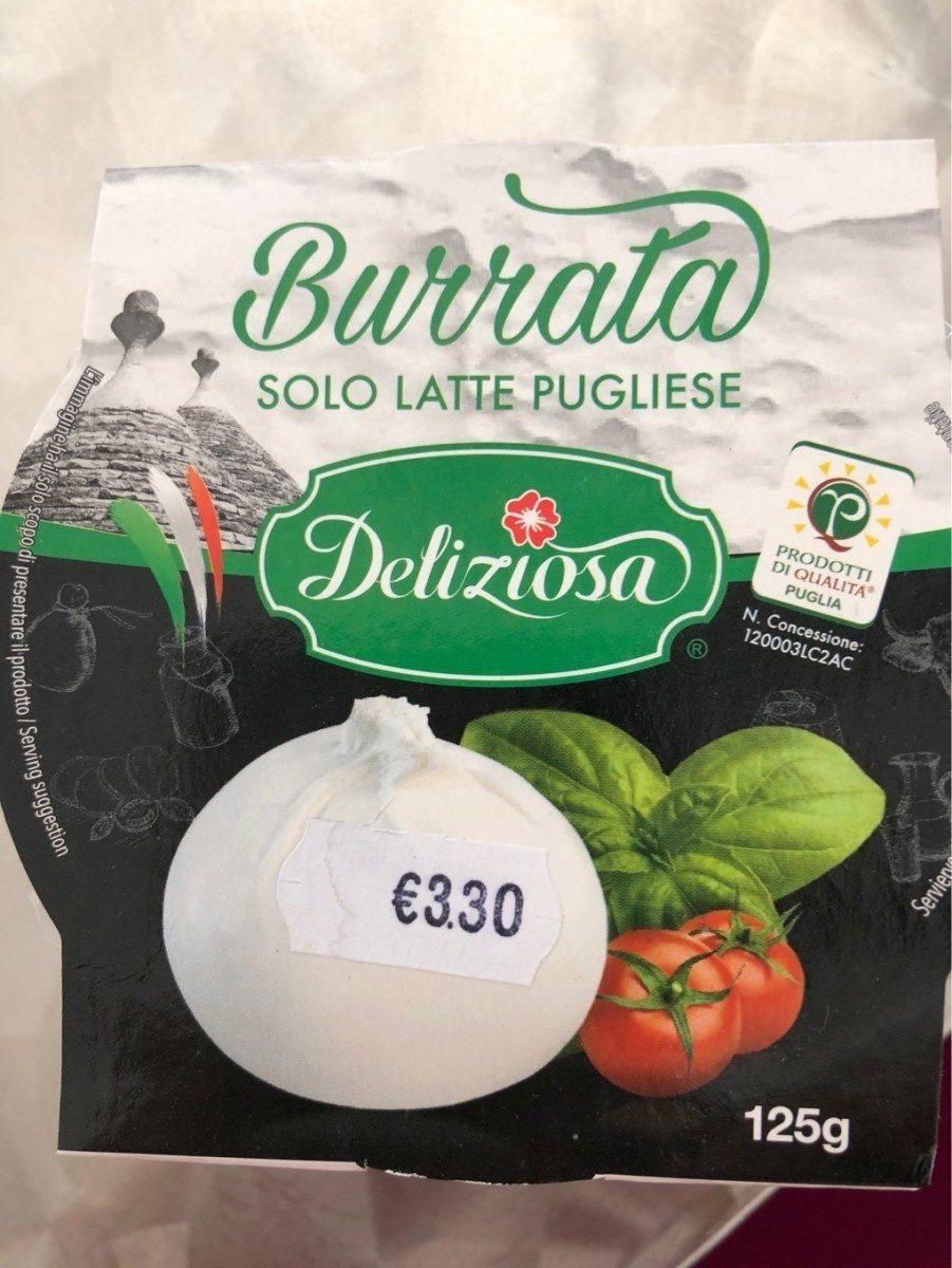 Burrata - Producte