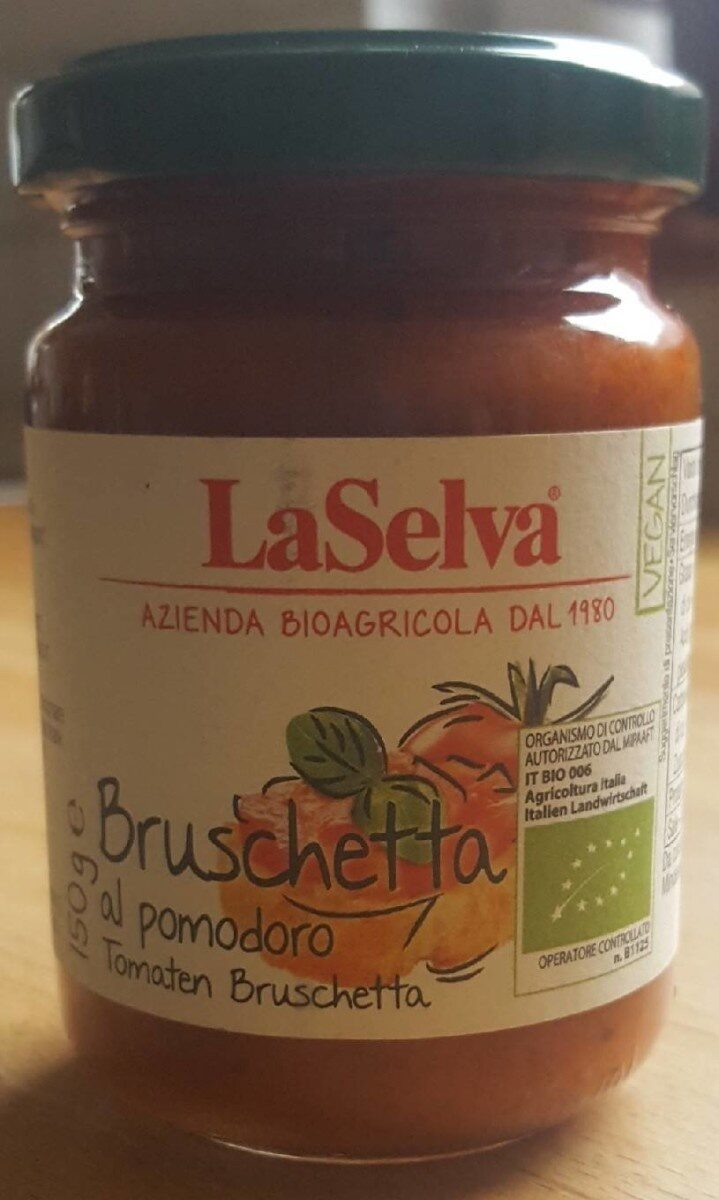 La Selva Bruschetta al pomodoro - Product - fr