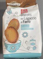 Biscotti del lagaccio di farro bio - Prodotto - it