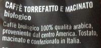 Caffè 100% qualità arabica - Ingrédients - it