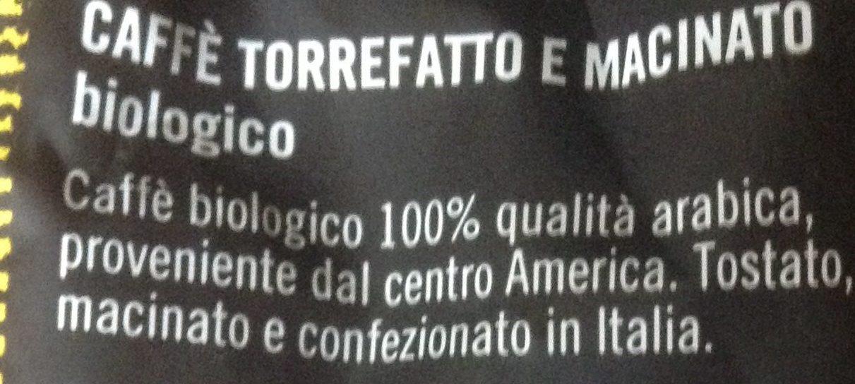 Caffè 100% qualità arabica - Informations nutritionnelles - it